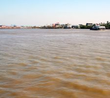 Mississippi River Ferry 2 by cynstock