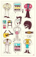 Andy Kaufman by Montygog