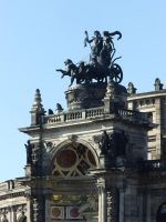 Opera house in Dresden by EricaOscura