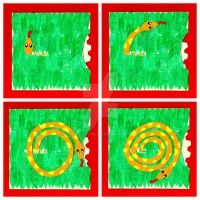 2013 Year of the Snake Card (Interactive Volvelle) by danlayton