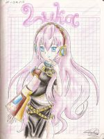Luka Megurine by RaquellovesShadow225