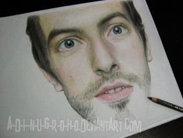 chris martin coldplay WIP by A-D-I--N-U-G-R-O-H-O