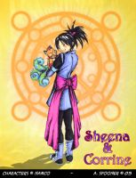 ToS: Sheena and Corrine by Stealthos-Aurion