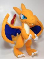 Pokemon - Charizard custom plush (for sale) by Kitamon