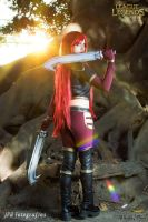 Katarina High Command cosplay League of Legends by MelodyxNya