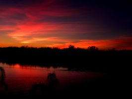 Red sky at night by jccowles