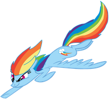 Rainbow Dash by iPandacakes