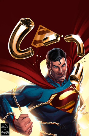 Superman in Action Comics by MatthewSwift