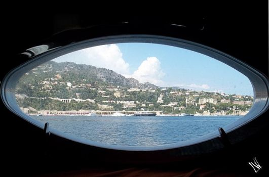 Sea thru a porthole by littlewindmill89