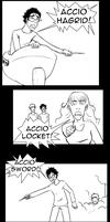 HP DH: Accio Logic by Witchii-chan