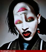 Marilyn Manson and Johnny Depp/Mad Hatter by CrashQueen1