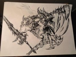 Deathwing and The Shatterer by tannen97