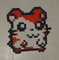 Hama Beads - Hamtaro by acidezabs