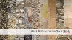 Stone Texture Pack- Warm Color by Esther-Sanz