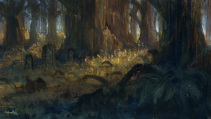Forest Graves by JoshuaNel