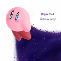 Happy 22nd birthday Kirby! by Nuzita