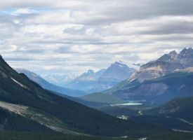 View from Peyto Lake, BC by kieriahna