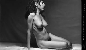 Nude Value Study by Pungyeon