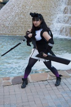 Deadly Nightshade: Blake Belladonna cosplay by ashweez