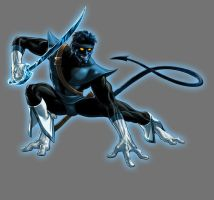 Blue Lantern Night Crawler by Lord-Lycan
