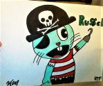 Happy Tree Friends-Russel by Sarahinc