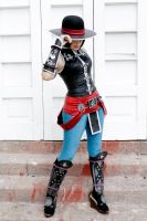 Kung Lao Gender Bender by Zettai-Cosplay
