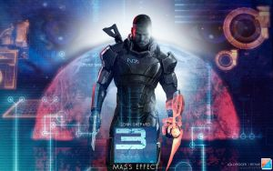 Mass Effect 3 wallpaper by briorey