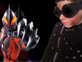 Ultraman Belial and Me by KaijuSlasher