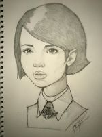 Emily from Dishonored by V3T1K