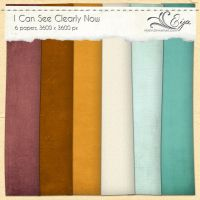 I Can See Clearly Now paper pack by Eijaite