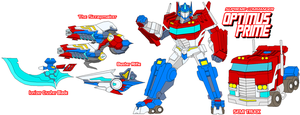 Autobot Optimus Prime B by Tyrranux