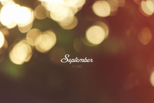 Hello September! by ceesevenmarzartworks