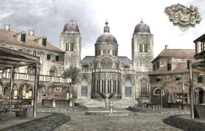 Valhalla Knights Town by deant01