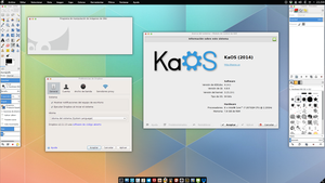 KaOS Stable KDE 4.14.1  2/3 by x11tete11x