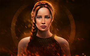Jennifer Lawrence (Painting) by MirellaSantana