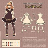 Royal Classic Lolita Design by noke89