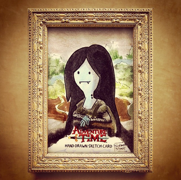 FINE ARTS - Marceline Mona Lisa by geralddedios