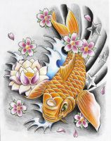 koi fishy new by WillemXSM