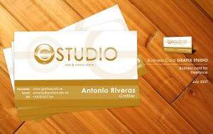 GRAFIX STUDIO Business Card by webgraphix