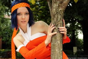 Fairy Tail Levy Cosplay by insidetheinsane