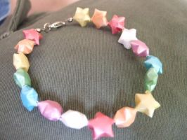 Star Bracelet by AddictedtoRain