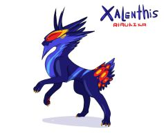 Xalen by DawnoftheBlueMoon