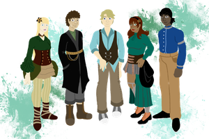 The Spectacular Crew of the Delphine Daphne by Cartoon-Trash