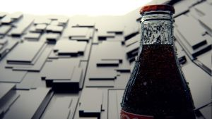Close-up Coca Cola by Patan77xD