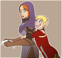 Rogues of a Feather by Arcticwaters