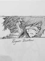 Quick Sketch - Rogues Shadow  by passion00