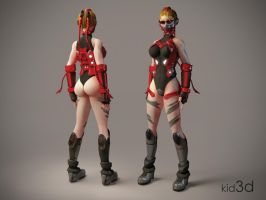 Red Cammy by KID3D