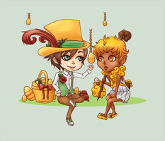 Golden Egg and Sheep by shaihya
