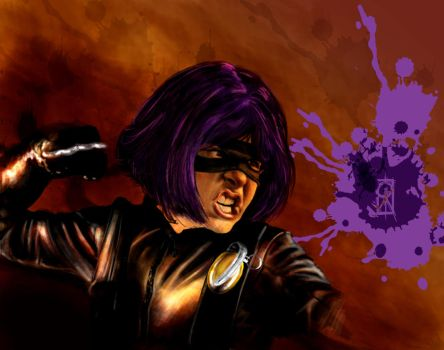 HIT GIRL finished by ozzie325