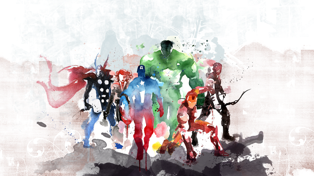 The Avengers by FlowMediaProductions